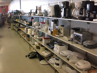For Affordable Furniture, Visit The Rescue Mission Thrift Store.